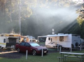 Camping at Pemberton