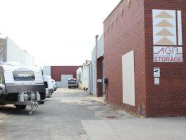Caravan hardstand parking at AGB Storage