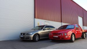A variety of cars makes storing vehicles quite interesting at AGB
