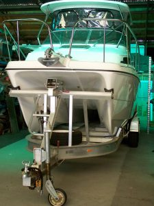 Keeping your precious boat under cover helps to prolong its life