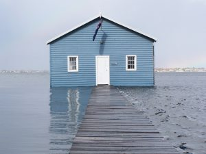 Another Perth tourist attraction is the Crawley boatshed