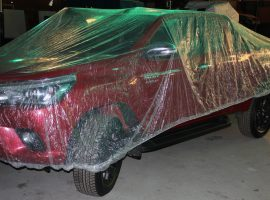 Car covers are used to keep clean and detailed vehicles dust-free whilst stored at AGB