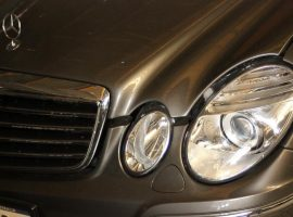 Mercedes lights are always different and interesting throughout their range