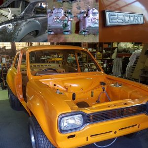 My 1972 Twin Cam Ford Escort : 39 year re-build, nearly there! At AGB Car Storage we can safely store your Project Cars once completed and you have nowhere to house them.