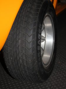 1970's tyre for Ford escort rally car
